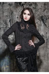 chemise-noir-gothique-aristocrate-pour-femme-boutique-gothique-en-ligne-paris-vetement-gothique